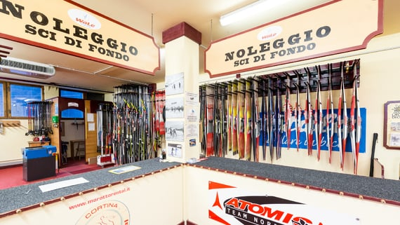 Klettersteigset Outlet : Morotto cooperativa di cortina shopping in dampezzo