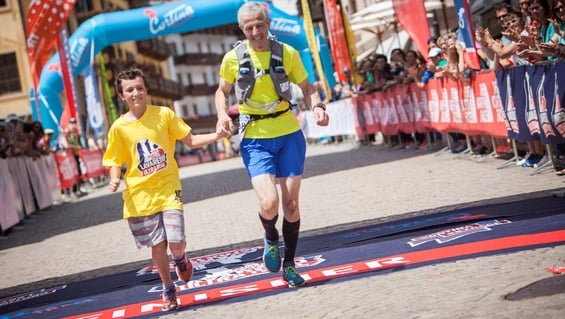 THE NORTH FACE LAVAREDO KIDS RACE