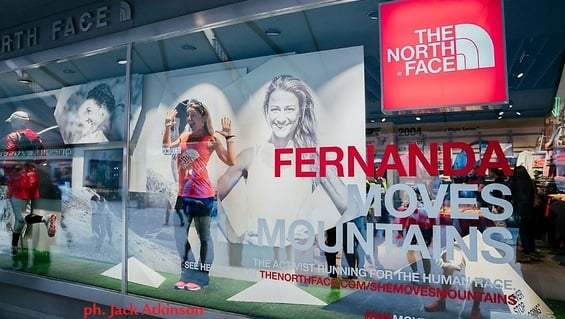 Fernanda moves mountains