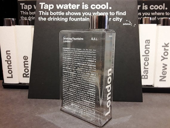 Tap water is cool!